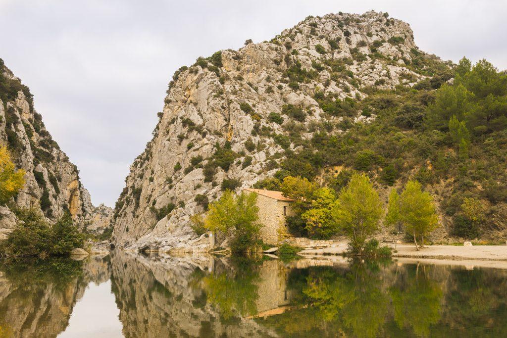 Plan large Gorges des Gouleyrous