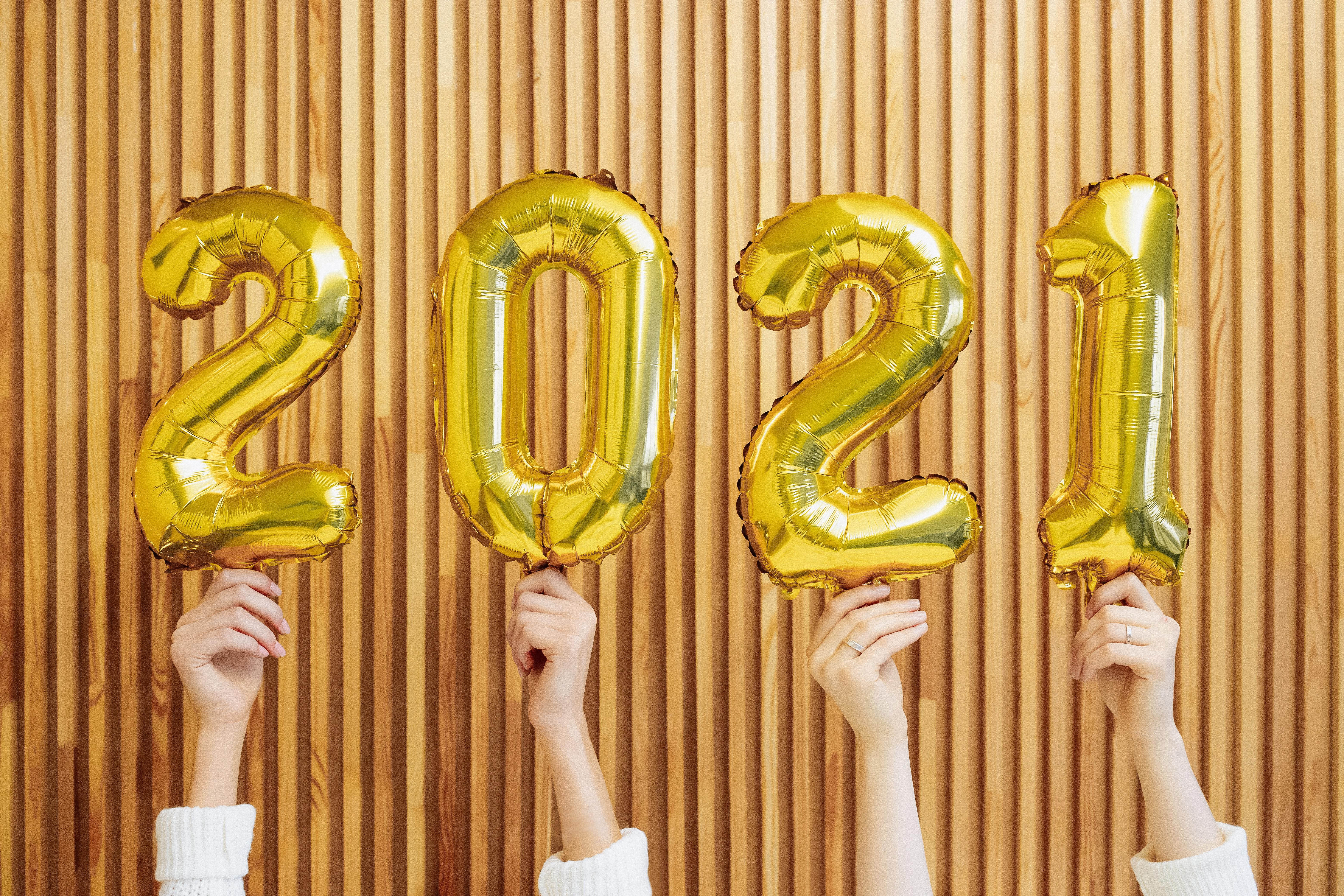 NOS 6 BONNES RÉSOLUTIONS POUR 2021