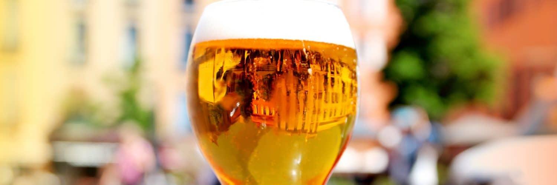 Verre bière place république©BIT Perpignan