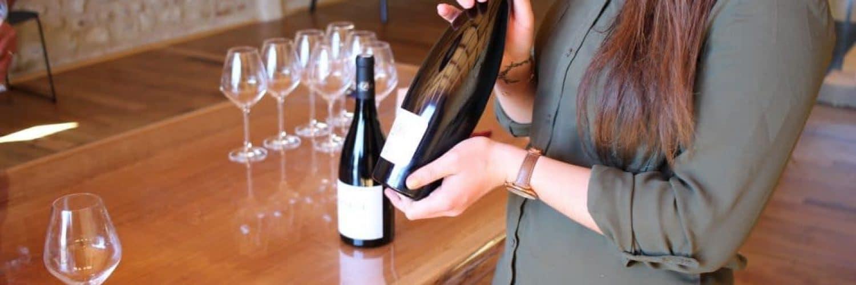 Ville et vin Domaine Lafage ©Office de tourisme