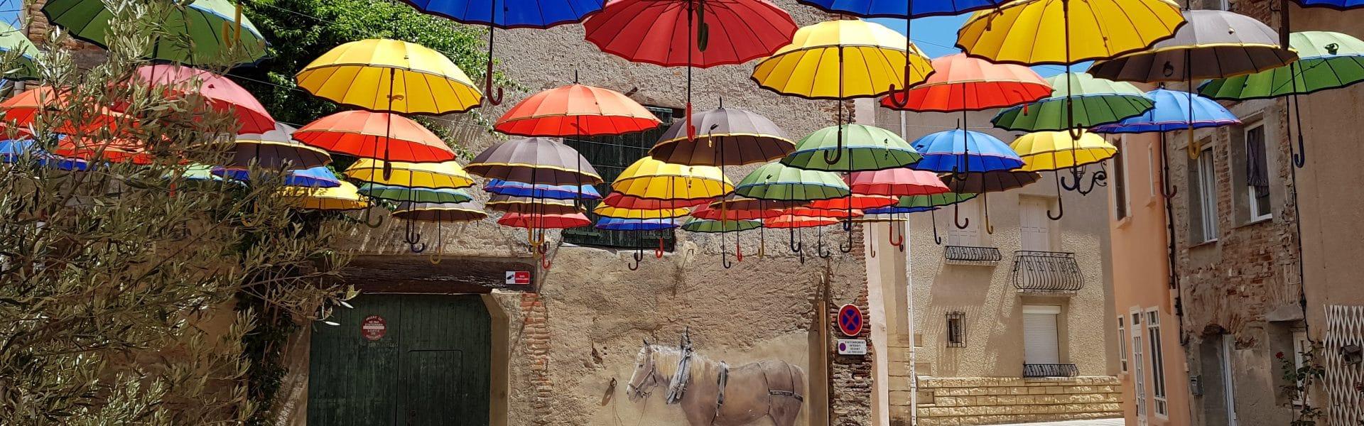 parapluies ©mairie Ste Marie